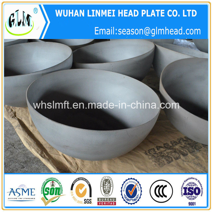 Sand Blasting Hemispherical Head for Chemical Industry