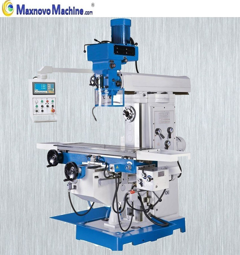 Milling Machine For Sale >> Hot Item China Horizontal Universal Turret Milling Machine For Sale Mm Mf6336