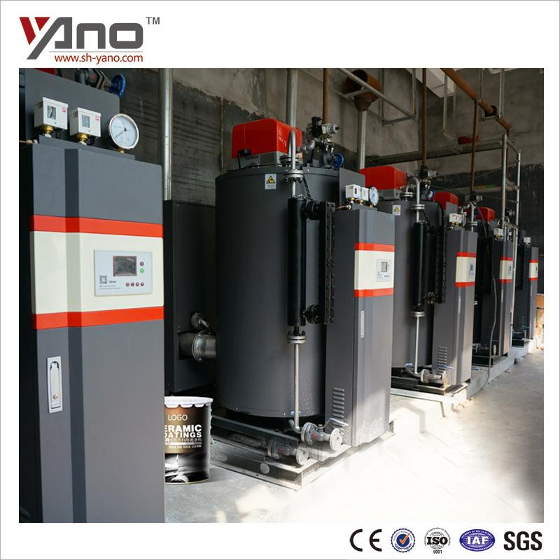 China 300kg/H Natural Circulation Gas Steam Boiler for