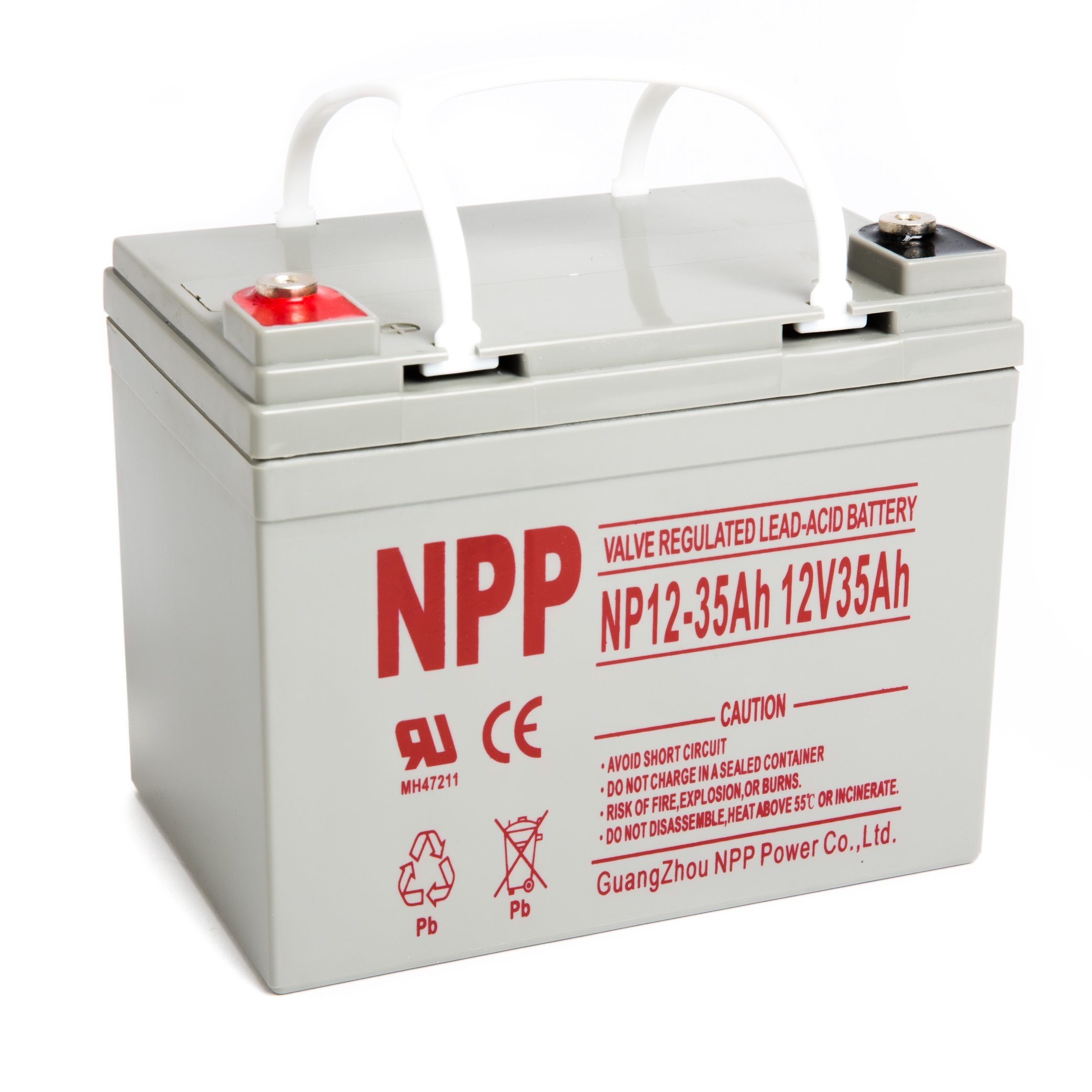 China Npp Npd12 35ah 35ah 12volt Agm Deep Cycle Sealed Lead Acid Battery For Ebike Electric Wheelchair Scooter China Sealed Lead Acid Battery Lead Acid Battery
