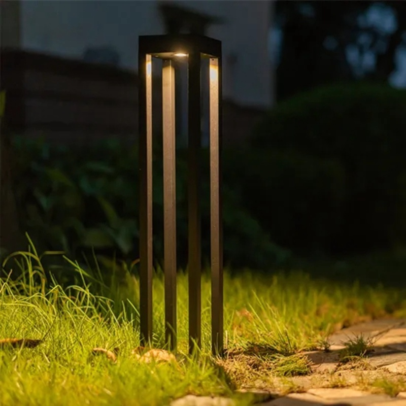 China Post Power Outdoor Laser Inox, Outdoor Wall Light With Bluetooth Speaker
