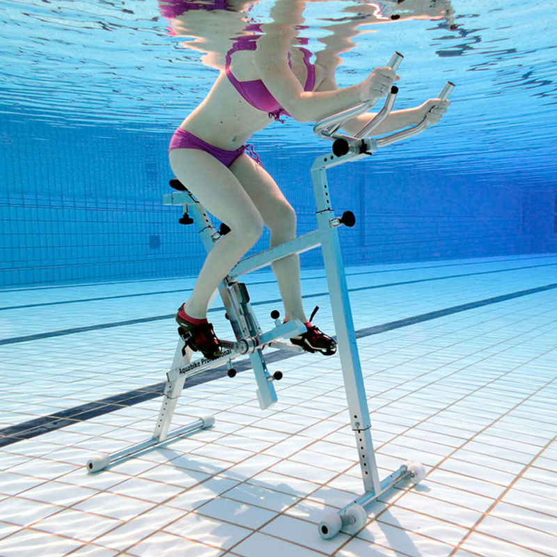 [Hot Item] New Swimming Pool Play Equipment Stainless Steel Water Exercise  Bike