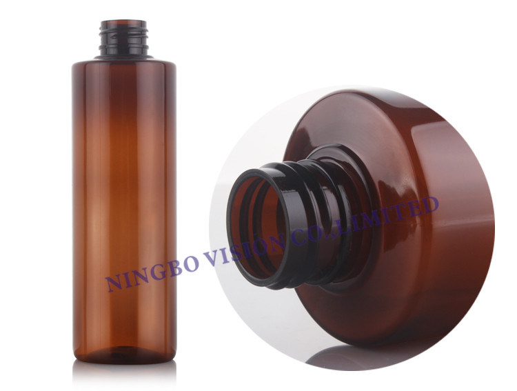 4403ee614347 [Hot Item] 8 Oz Empty Plastic Bottles BPA-Free Leak Proof with Disc Top Cap  Lids Refillable Containers for Shampoo, Lotion, Liquid Soap (8 oz Amber ...