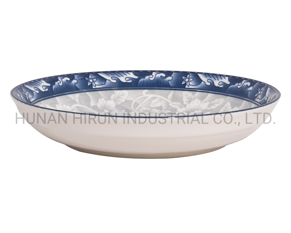 [Hot Item] Microwave Safe Porcelain Bowl Plate with Pad Printing