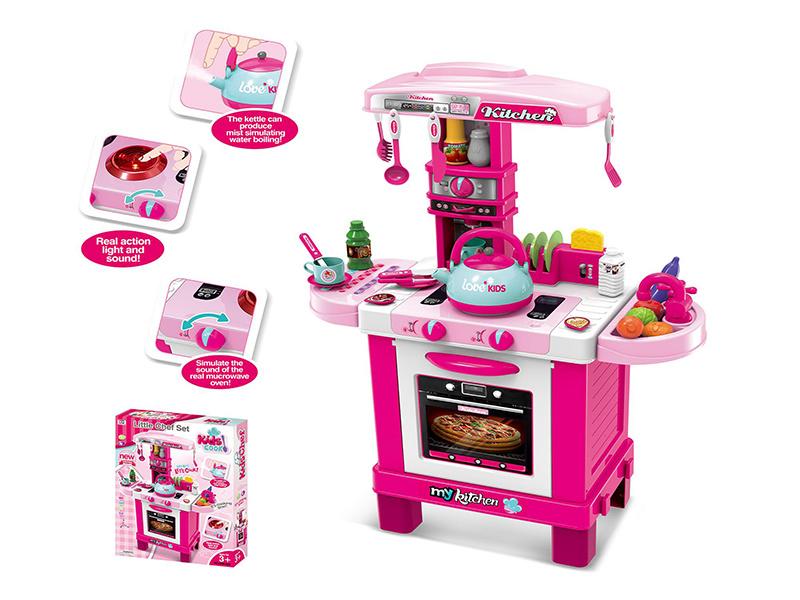 China Plastic Kids Toys Girl Pretend Play Set Children Kitchen Toy H0535588  - China Children Toy and Kitchen Toy price