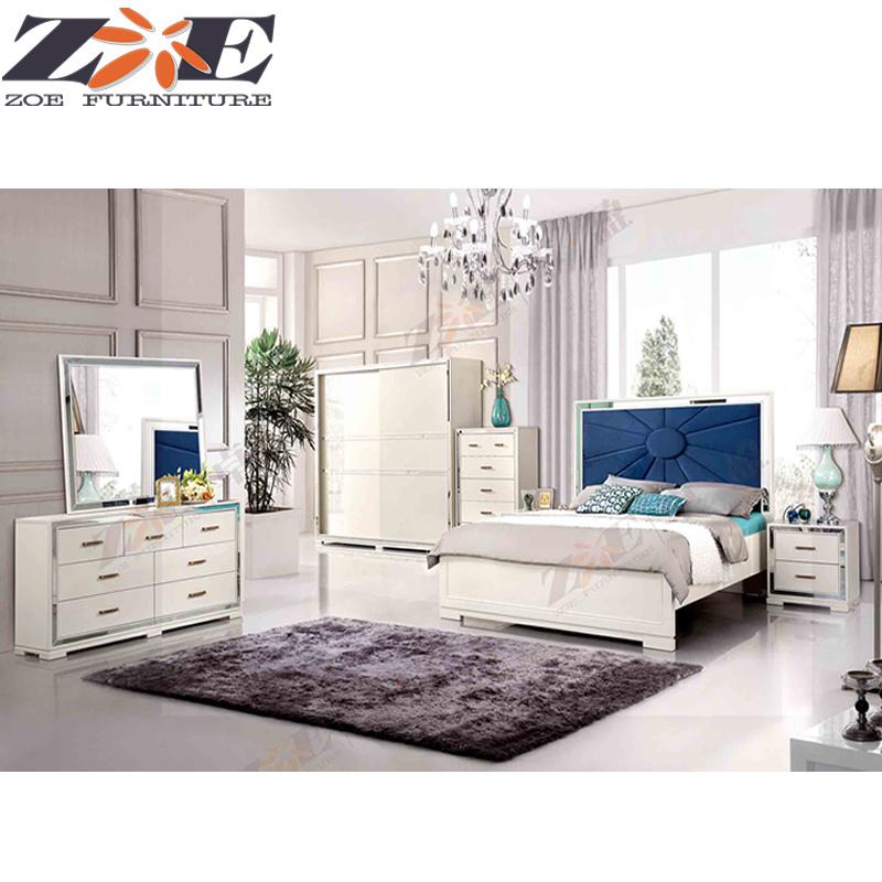 China Modern Luxury Mdf High Gloss Pu, El Dorado Furniture Bedroom Set
