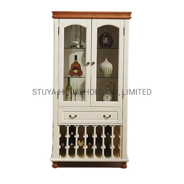Home Furniture Wood Wine Bar Cabinet, Living Room Bars Furniture