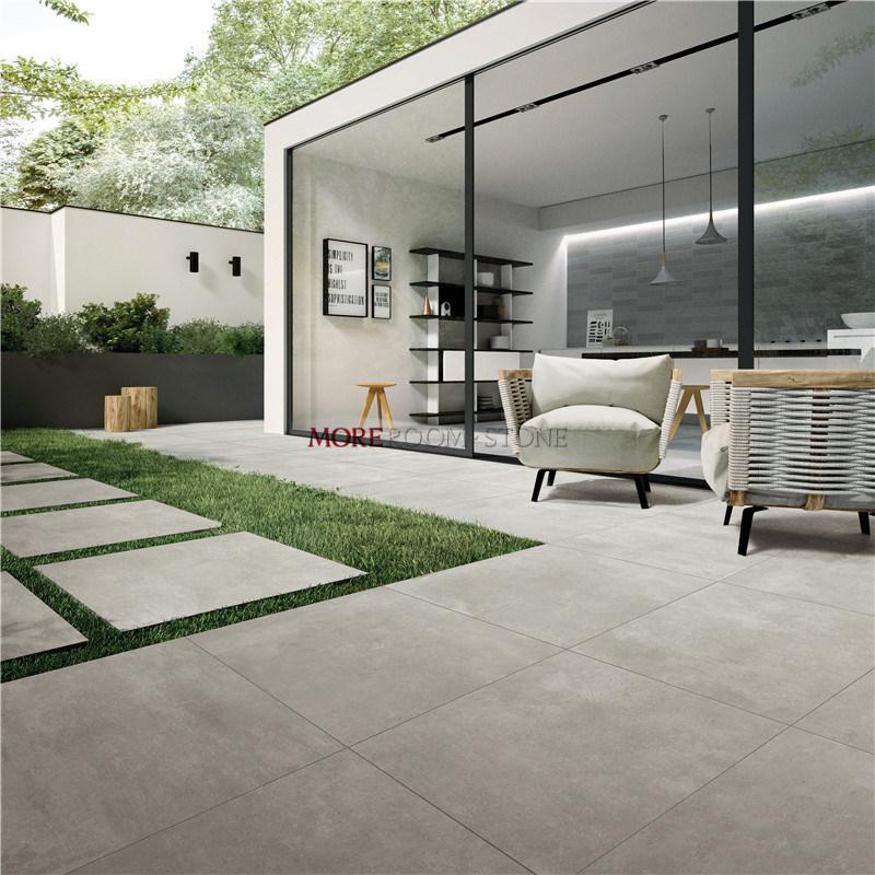 China 24x24 Anti Slip Light Grey 2cm, Outdoor Porcelain Tile
