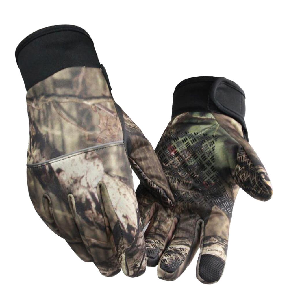 Winter Warm Full Finger Touch Screen Glove for Shooting Bike Fishing Hunting