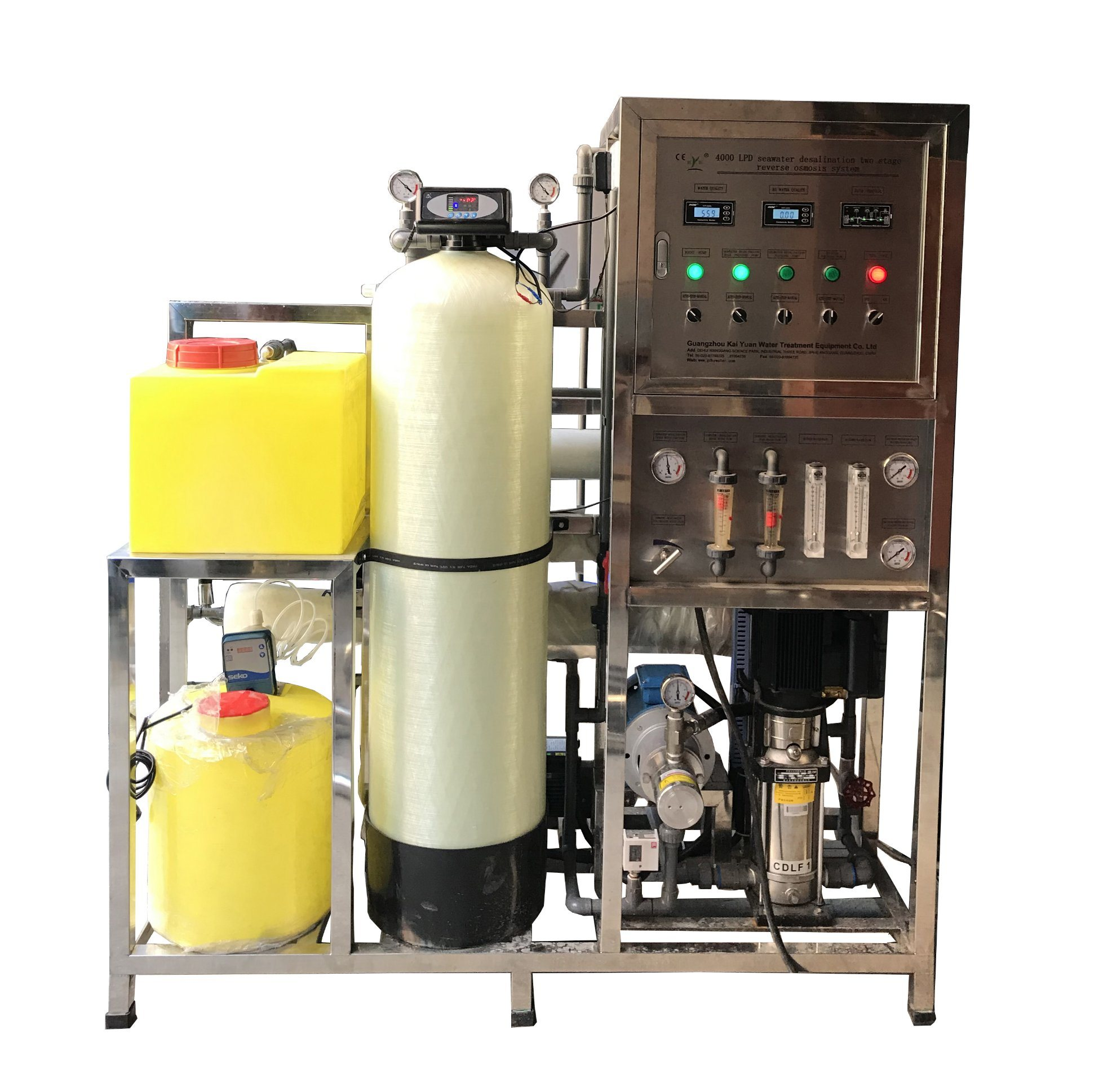 [Hot Item] Factory Industrial RO Seawater Desalination Plant Water  Desalination Machines/Salt Water to Drinking Water