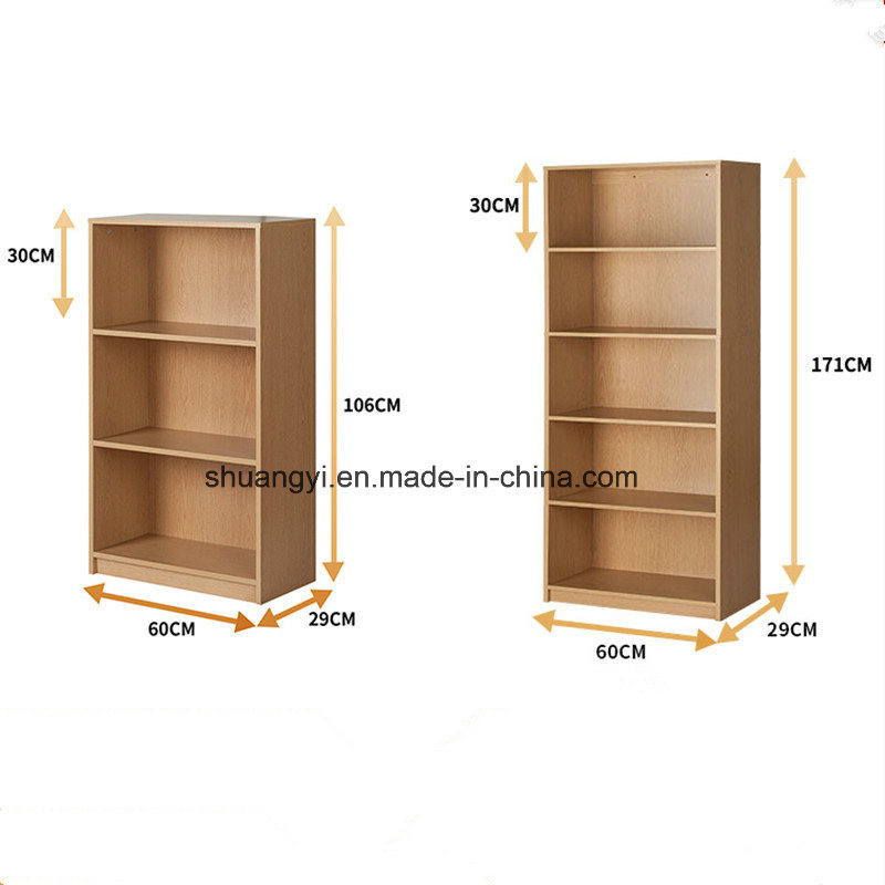 China Knock-Down Structure Home Office Use Wooden Storage Book ...