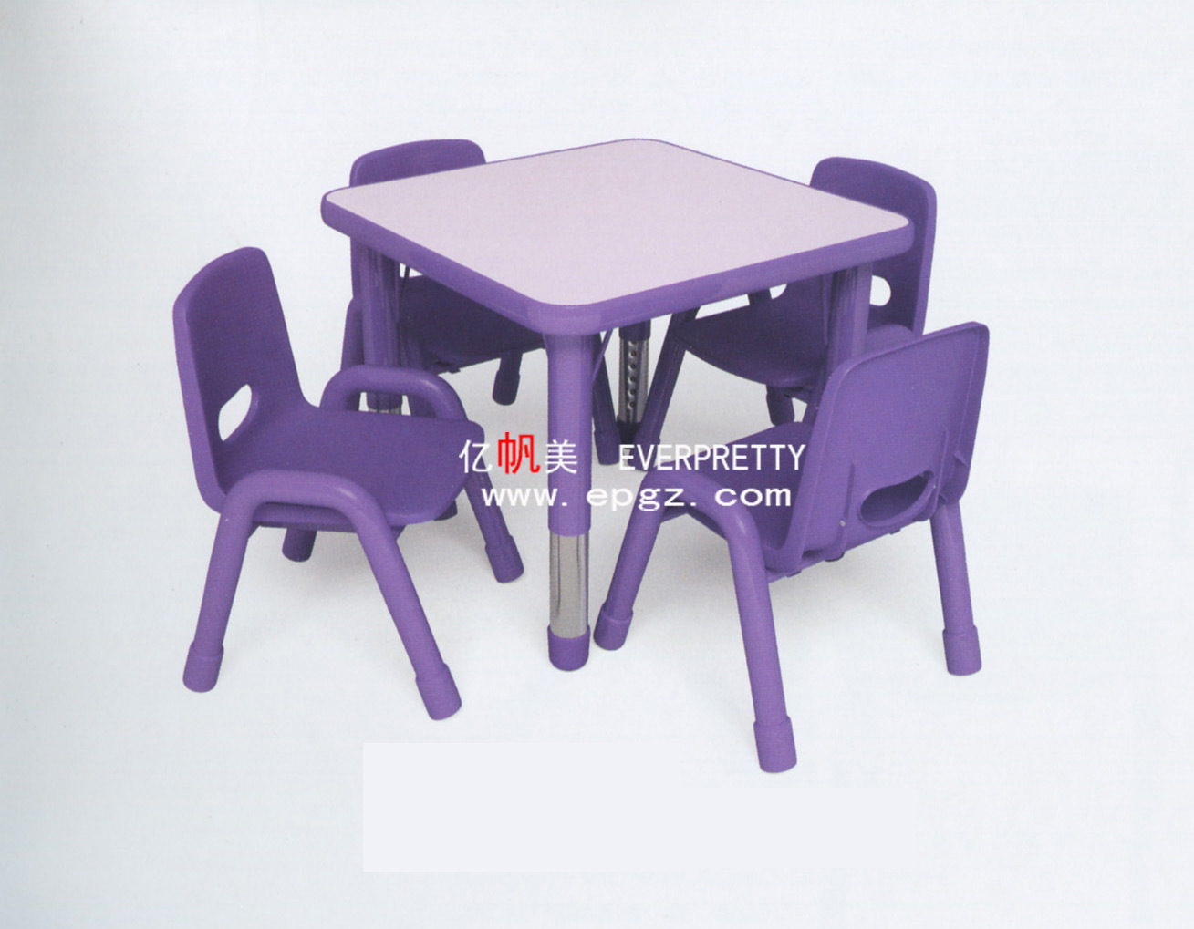 China Sale Cheap Kids Plastic Tables and Chairs Photos ...