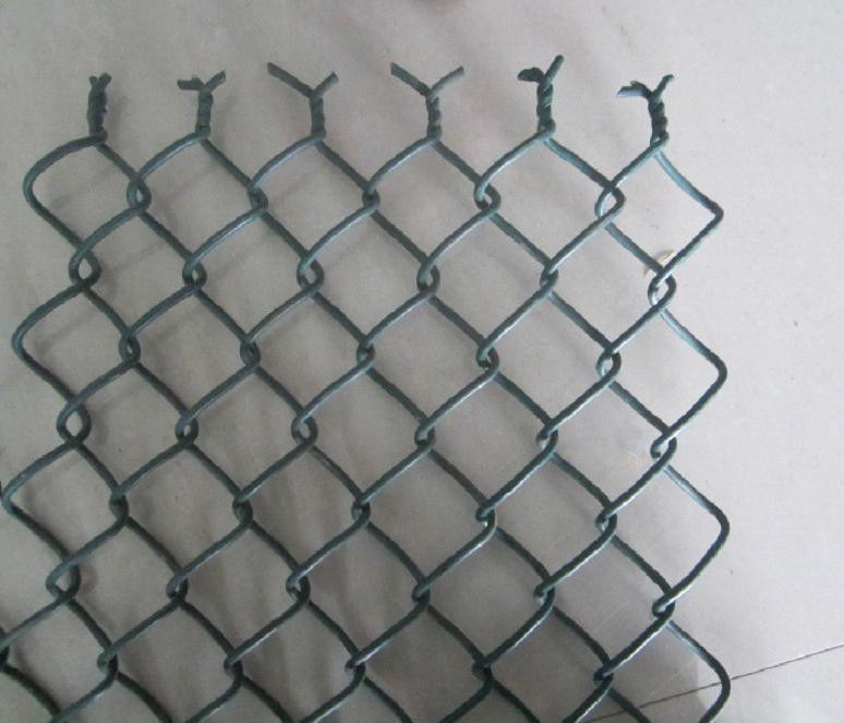 Black Coated Chain Wire Mesh in Roll