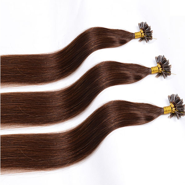 China Best Quality Italy Keratin 100 Remy Hair Cold Fusion Hair