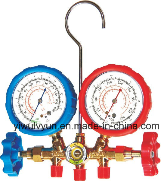 High Quality Brass Manifold Gauge Set