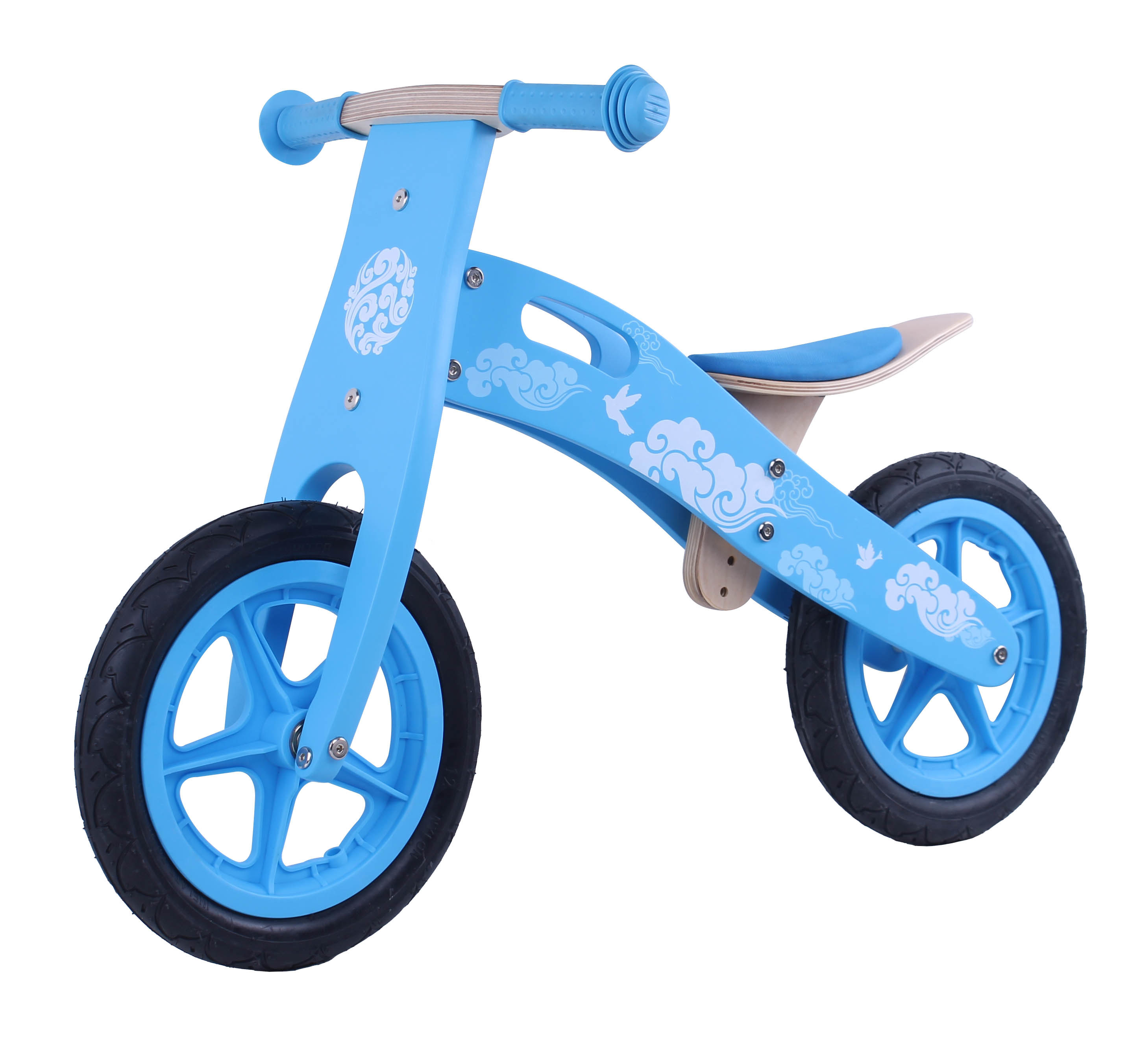 Hot Item 2017 Wholesale Wooden Balance Bikes For Toddlers High Quality Wooden Balance Bikes For Toddlers