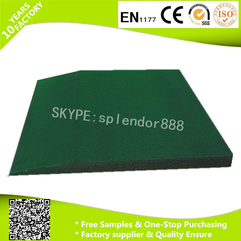 Garden Rubber Tile Border, Durable Rubber Safety Edge pictures & photos