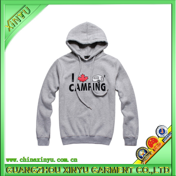 2017 Wholesale Custom Cotton Customized Sweater Hoodies (XY1512)