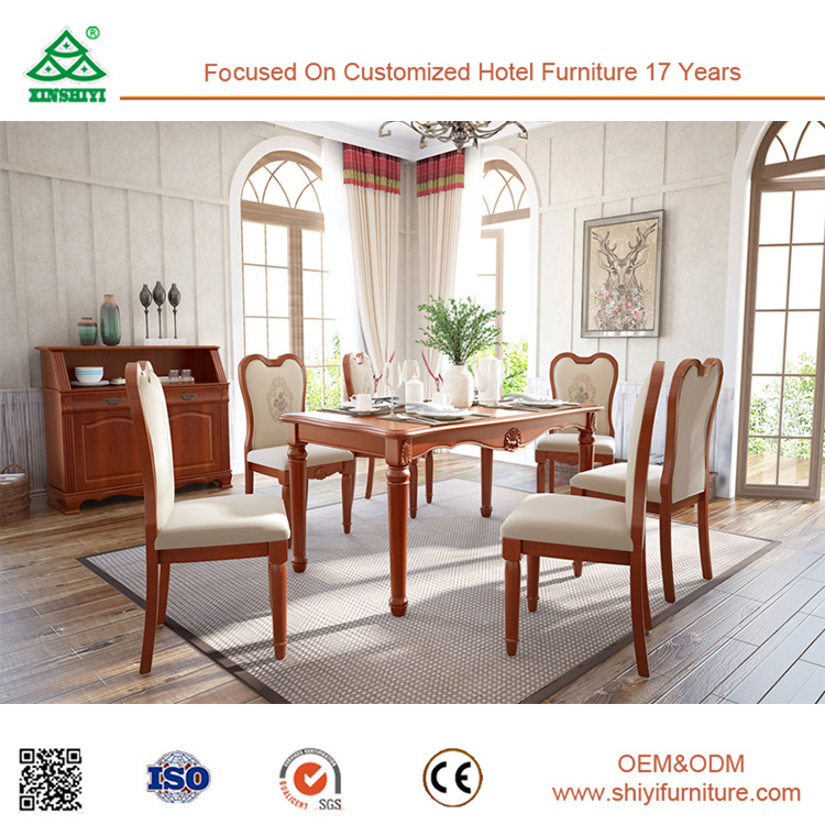 Excellent Performance Wooden Dianing Room Chair Parts Environmental Table Dining Furniture Sets