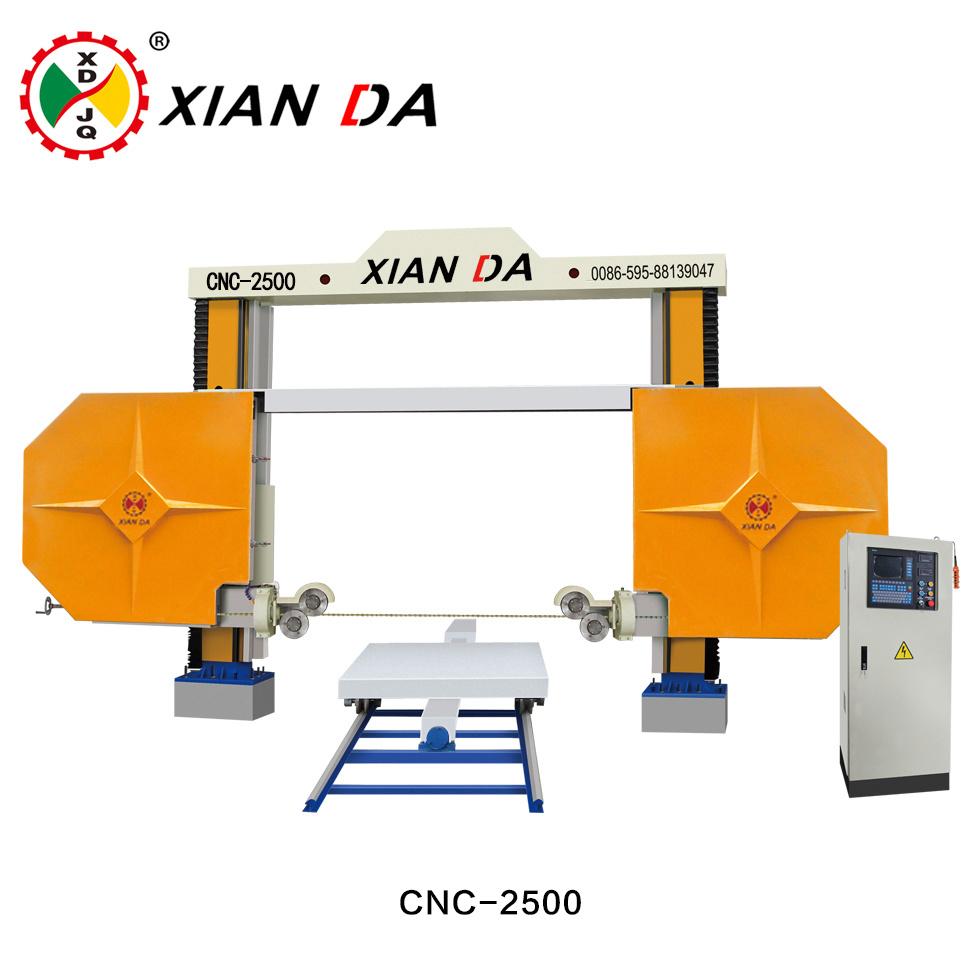 China Xianda Automatic High-Quality Arc-Shaped CNC Diamond Wire Saw ...