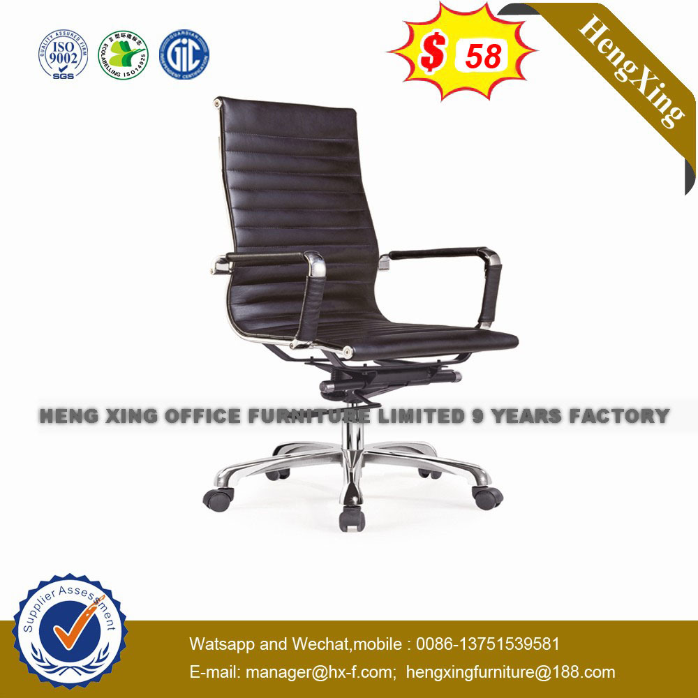 Elegant Design Aluminium Base Leather Arms Executive Office Chair (HX-801B) pictures & photos