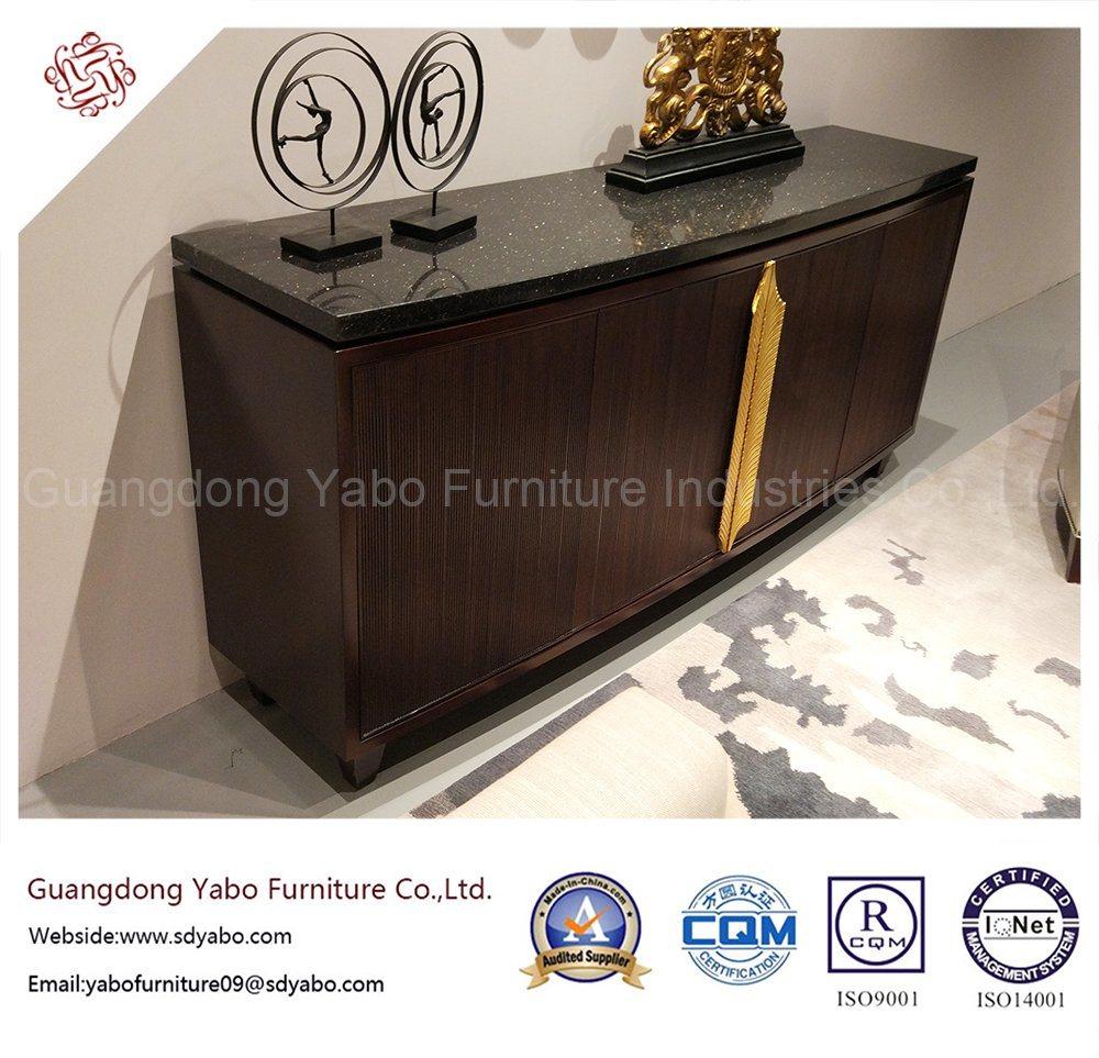 china modern hotel furniture for living room wooden side cabinet