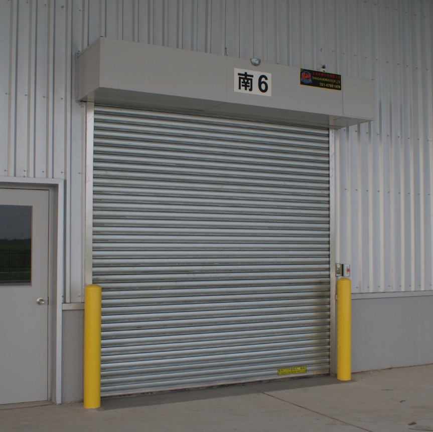 Automatic Aluminum Alloy or Metal Motorized Overhead Roller Shutter Warehoues Garage Electrical Roll up Door pictures & photos