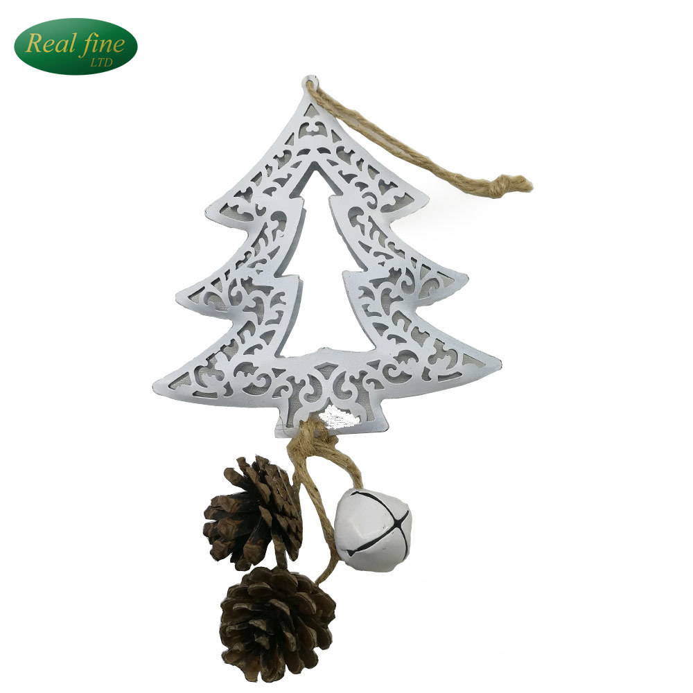 China Crafts with Bells Christmas Tree Iron Decorations - China ...