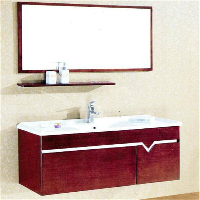 Mdf Bathroom Vanity With Aluminum Trim