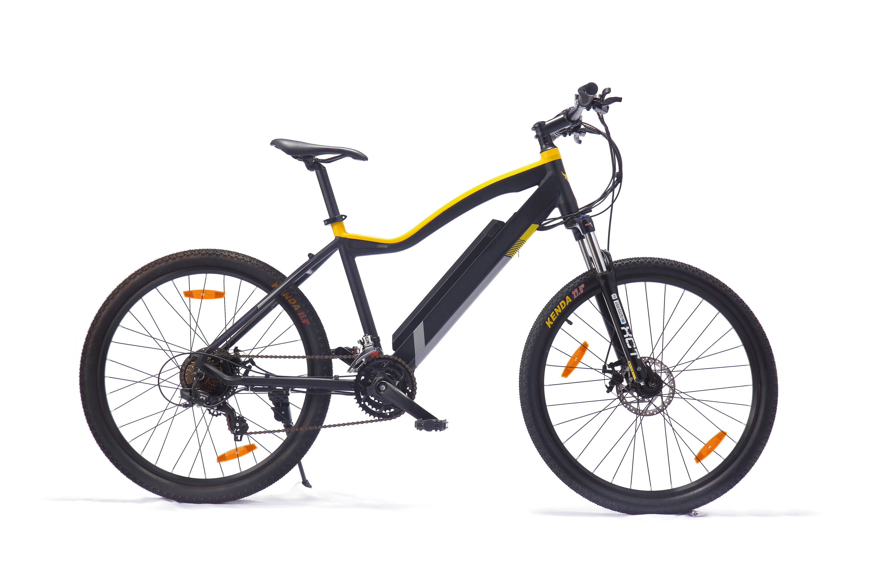 Folding Electric Bike with Spoke Wheel En15194 pictures & photos