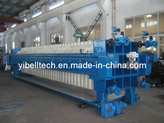 Automatic Verticle PP Mebrane Filter Press