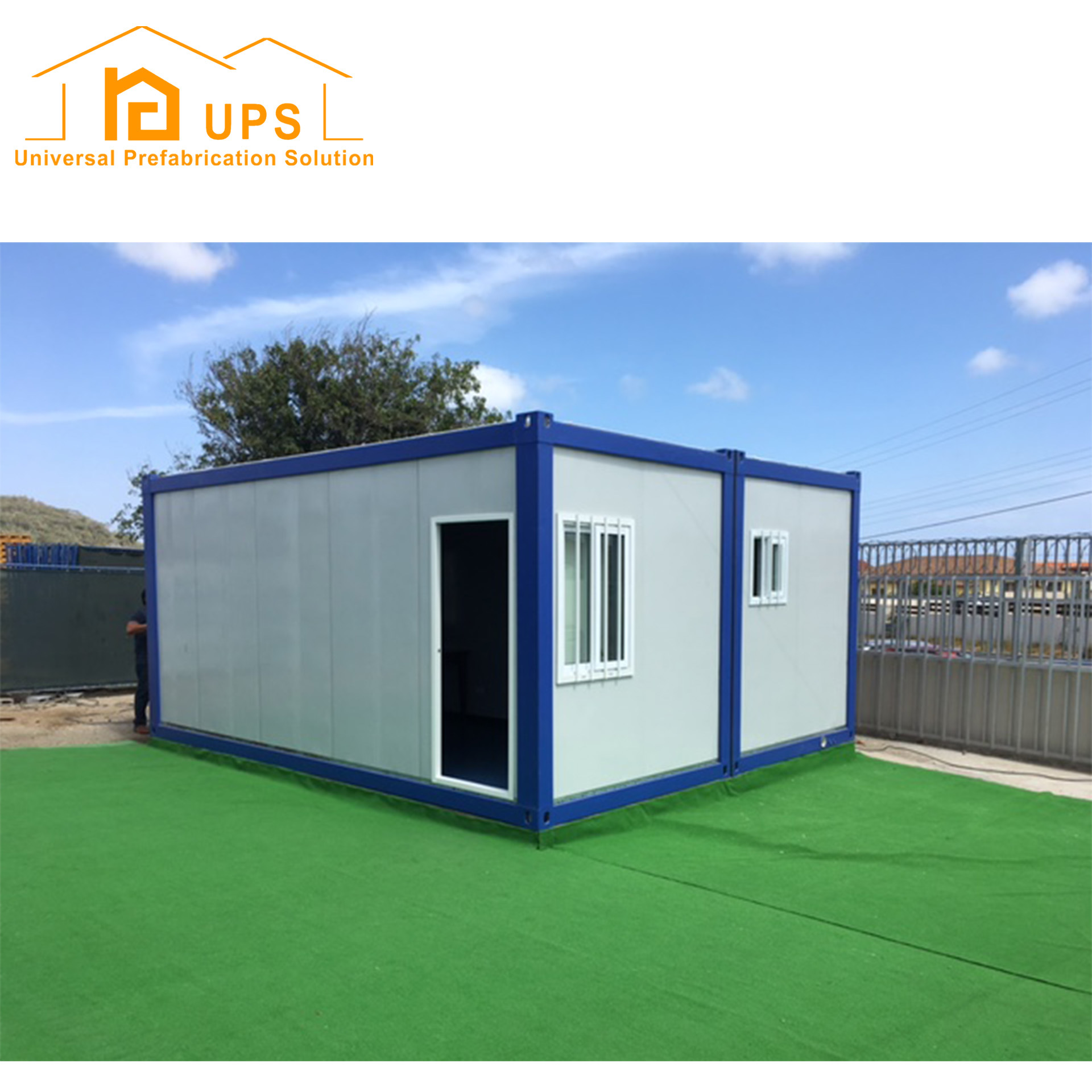 China 20 Feet Luxury Container House with Toilet and Kitchen - China ...