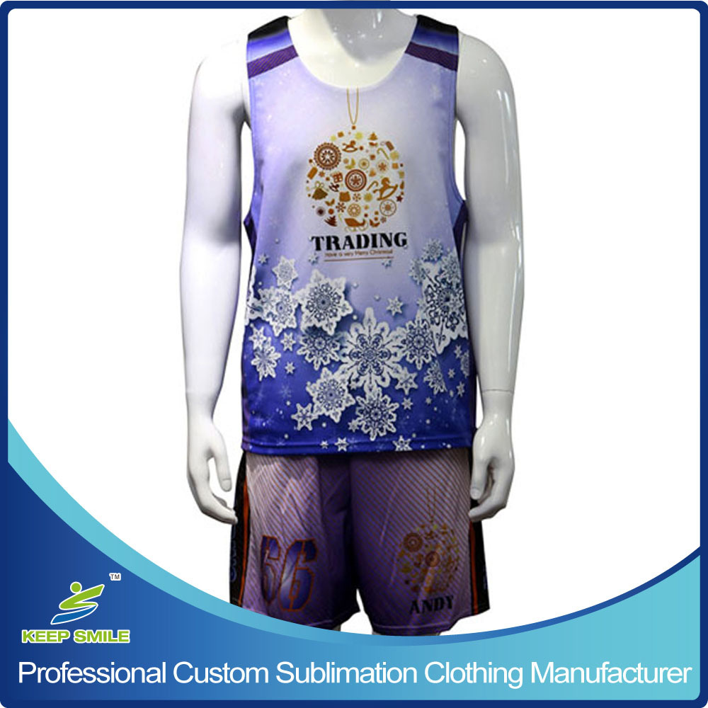 Custom Full Dye Sublimation Knitted Sports Clothes for Lacrosse Game