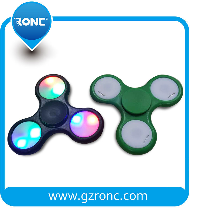 2017 High Quality and Best Price LED Hand Spinner Factory