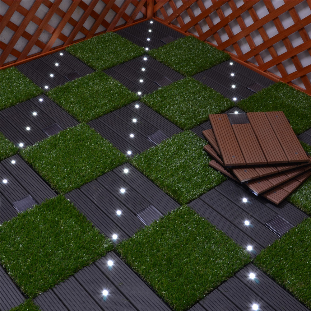 China high quality building material waterproof wpc solar light high quality building material waterproof wpc solar light floor tiles dailygadgetfo Choice Image