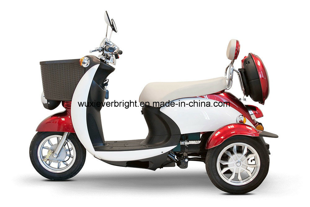 [Hot Item] Two Color Electric 3 Wheel Motor Scooter Trike Motor Moped