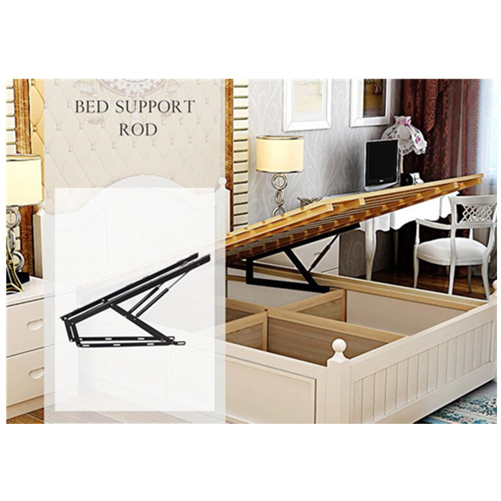 - China 50kg Folding Bed Mechanism Lift Up Storage Bed Frame With