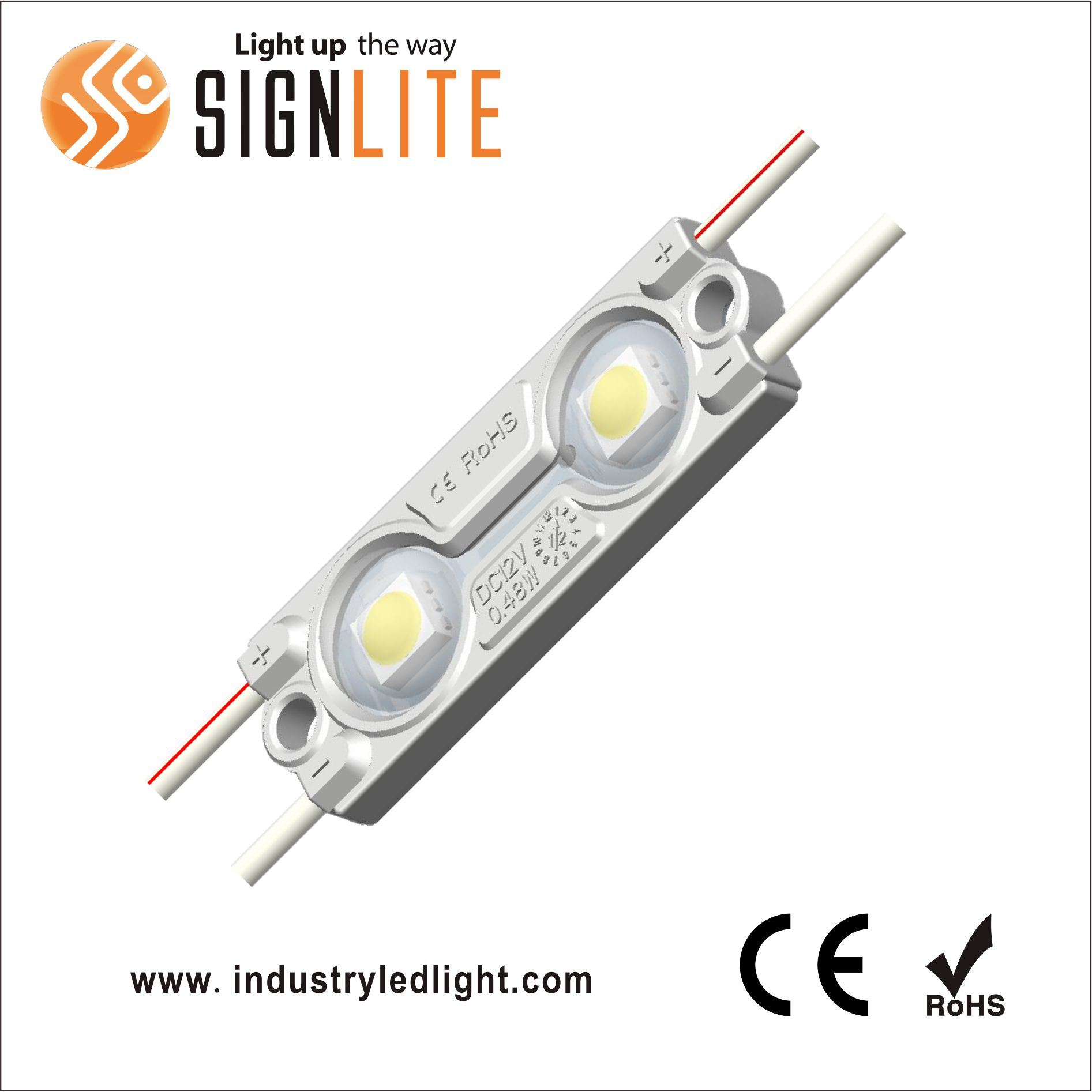 IAW324B DC12V IP65 SMD5050 Injection LED Module