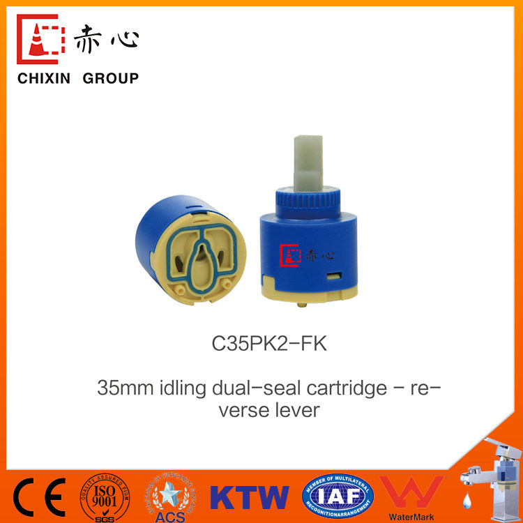 Idling Double Seal Ceramic Faucet Cartridge (C35PK1) Supplier