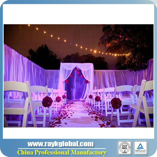 China Hot Sale Cheap Pipe And Drape Systems For Wedding Decoration
