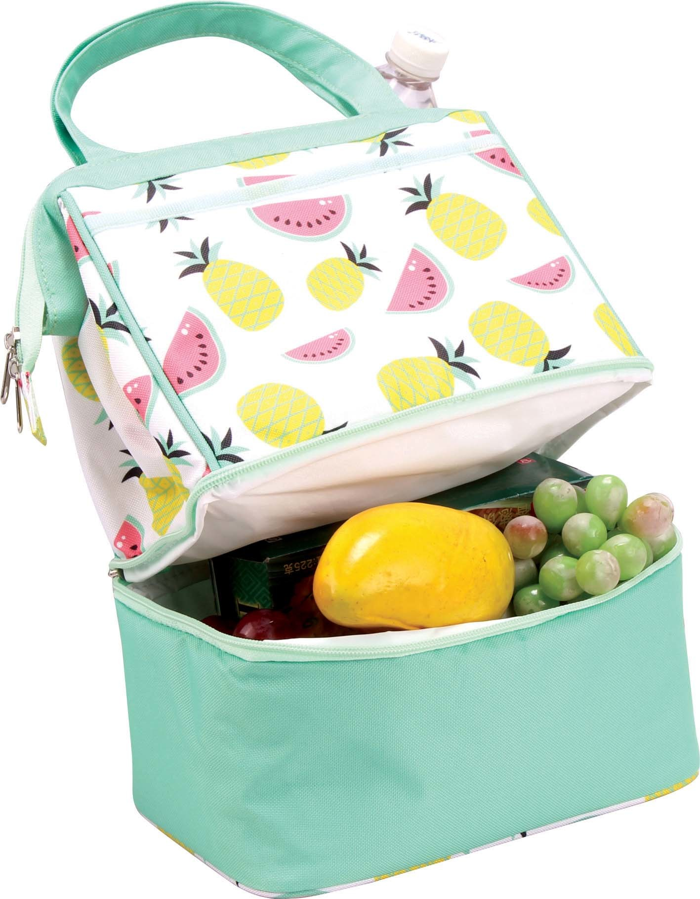 Cooler Bag Food Insulated Delivery Bag For Picnic Groceries Portable Folding 1PC