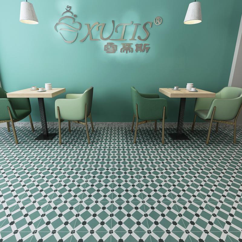 China Vietnam Pattern Restaurant Kitchen Wall Cement Tile Floor