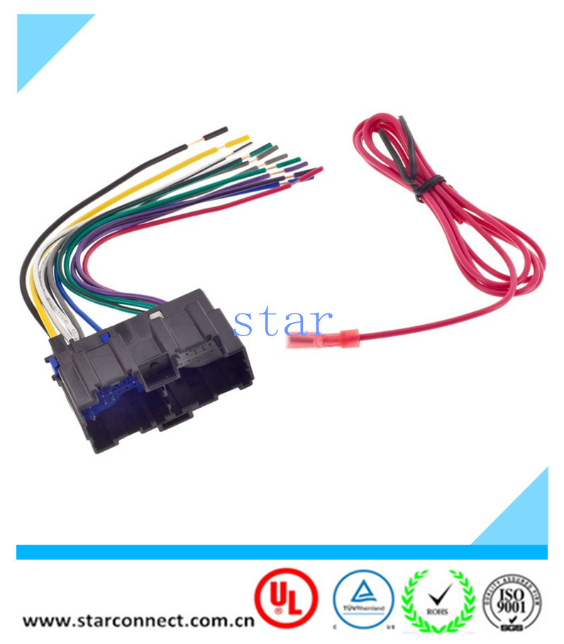 car radio stereo wire wiring harness to factory china car radio stereo wire wiring harness to factory radio for  car radio stereo wire wiring harness