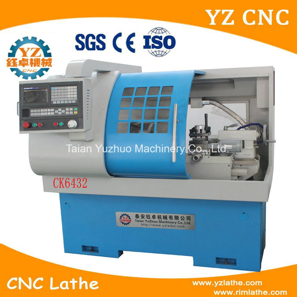 China Ck6432 Multi-Purpose CNC Turning Turret Lathe