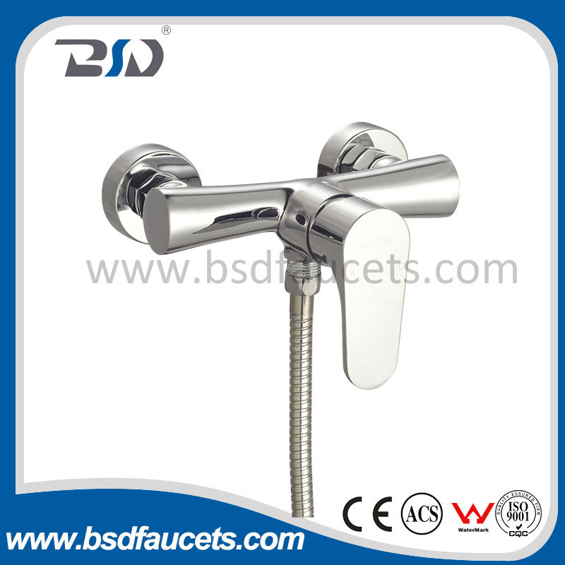 China Brass Bath Faucet Eco Friendly Wall Mounted Chrome Shower ...