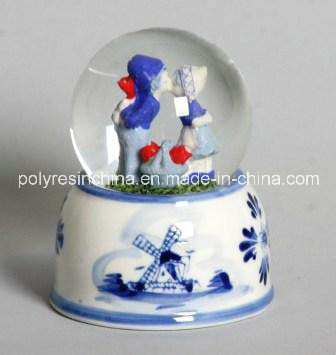 Resin/Polyresin Valentine Gifts of Snow Globe/Water Globe