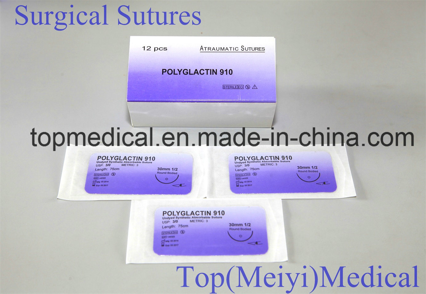 Surgical Suture Rapide Polyglactin 910