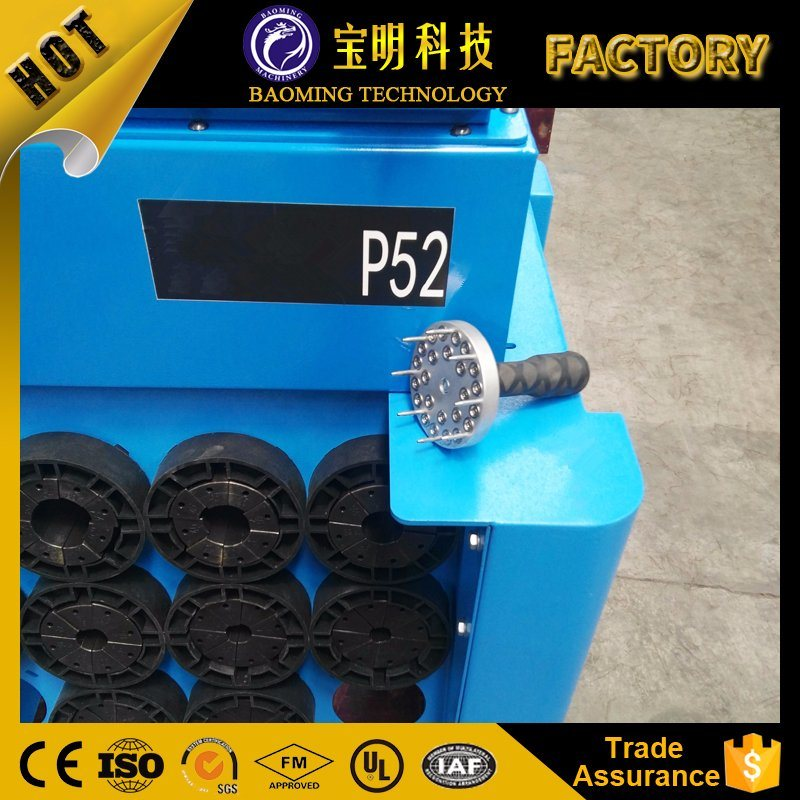 China Steel Wire Rope Made in China Hydraulic Hose Crimping Machine ...