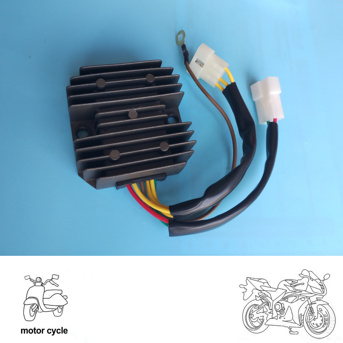 China Sh532b 12 For Bmw F650 G650x F800s Aprili Motorcycle Voltage F800st Wiring Diagram Regulator Rectifier Accessories Current Rectifiers