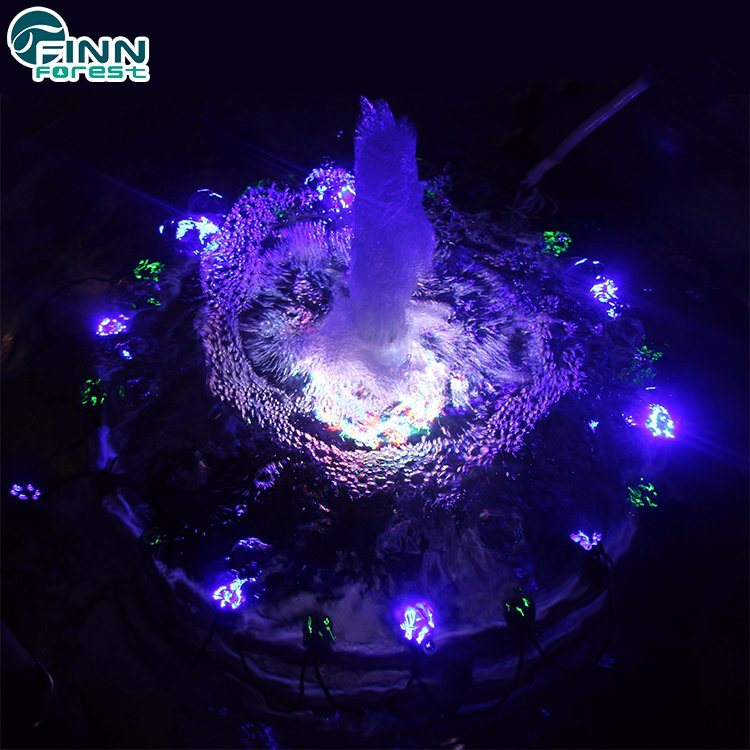 Pool Led Lights Music Water Fountain